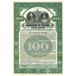 Dominion of Canada War Loan, 1917, Specimen Coupon Bond