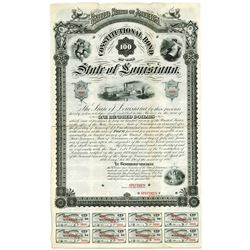 State of Louisiana, Constitutional Bond, 1880 Specimen Bond.