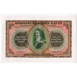 Bradbury, Wilkinson & Co. Ltd., ND (ca.1900-1920) Advertising Sample Note.