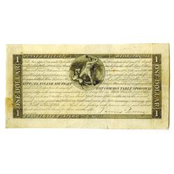 Penny's Receipt for the Cure of Hydrophobia (Rabies) $1 Ad Note, 1837.