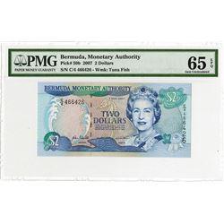 Bermuda Monetary Authority, 2007 Issue Banknote Rarity.