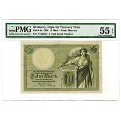Germany, Imperial Treasury Note - Reichskassenschein 1906 Issued Banknote.