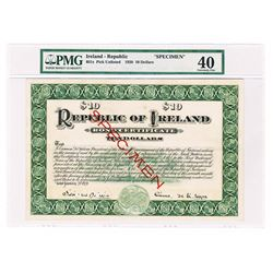 Republic of Ireland, 1920 Specimen Circulating Bond.