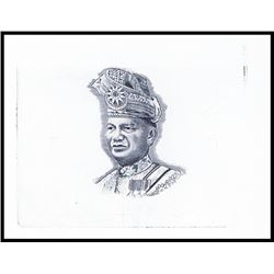 Bank Negara Malaysia, T.A.Rahman Proof Portrait Used on 1967 to 2004 Issues.