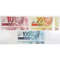 Banco Central do Brasil, 1990s-2000s, Trio of Error Notes.