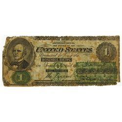 Greenback Political Ad on Legal Tender Look-a-Like note.