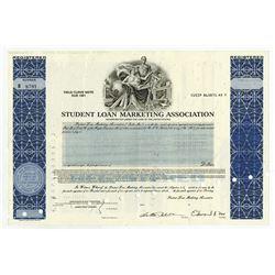 Student Loan Marketing Association, 1986 I/C Registered Bond.