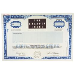 Sharper Image, 1999 Specimen Stock Certificate