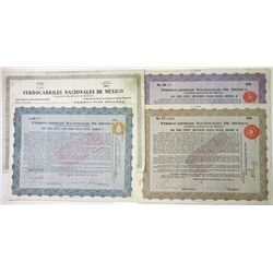 Ferrocarriles Nacionales de Mexico, 1914 Group of Issued Bonds
