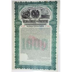Vera Cruz & Pacific Railroad Co., 1904 Issued Bond