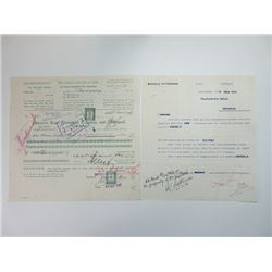 Citrus Marketing Board, 1948 Issued Check