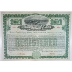 Mexican Petroleum Co., Ltd. of Delaware, 1911 Specimen Bond