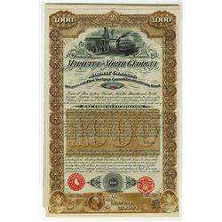 Marietta & North Georgia Railway Co., 1887 Issued Bond