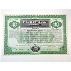 Pressed Steel Car Co., 1901 Specimen Bond