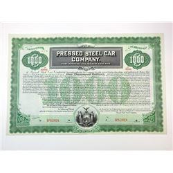 Pressed Steel Car Co., 1901 Specimen Bond