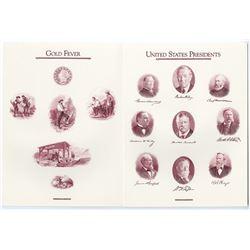 ABNC 1991 Archives Series Vignette sheets