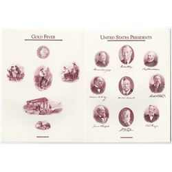 ABNC 1991 Archives Series Vignette sheets