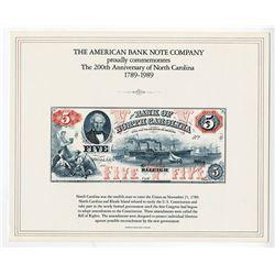 ABNC, International Paper Money Show & American Numismatic Association Souvenir Cards  1989-1991, Lo