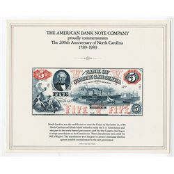 ABNC, International Paper Money Show & American Numismatic Association Souvenir Cards  1989-1991, Lo