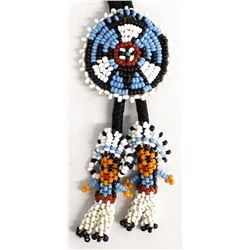 Native American Sioux Beaded Bolo Tie