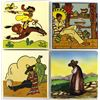 Image 1 : 4 Mexican Pictorial Tiles