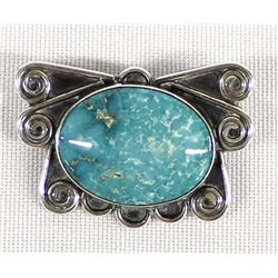 Vintage Native American Navajo Sterling Turquoise