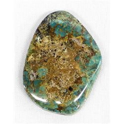 Baja Calif. Evans Mine Turquoise Cabachon
