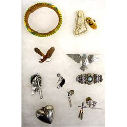 Collection of Southwestern Jewelry Plus