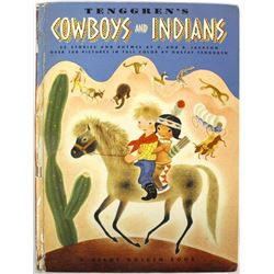 Tenggren's Cowboys and Indians, Giant Golden Book