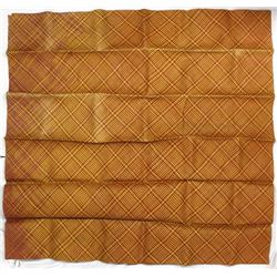 Large Japanese Natural Fiber Woven Tatami Mat