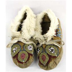 Vintage Native American Alaskan Eskimo Moccasins
