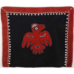 Northwest Coast Bead & Button Doll's Blanket