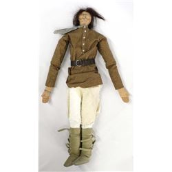 Laurie Ragan Cloth Geronimo Doll