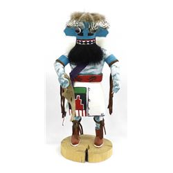 Navajo Sakwahu Chief Kachina by I. Bebo