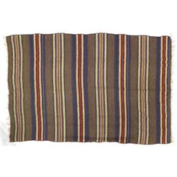 Native American Pueblo Fringed Wool Textile