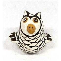 Native American Acoma Pottery Owl by Sarah Garcia