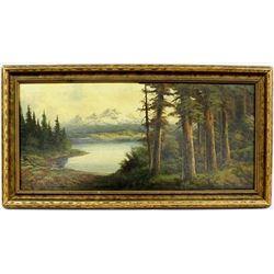Original John DeLane Pacific Northwest Landscape