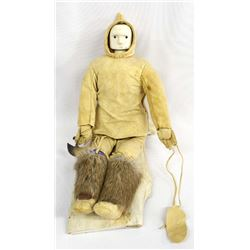 Vintage Native American Alaskan Eskimo Doll