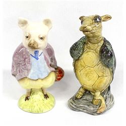 2 Alice in Wonderland Animal Figures