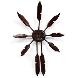 2006 Northwest Coast Carved Wood Sun by Aquilaq