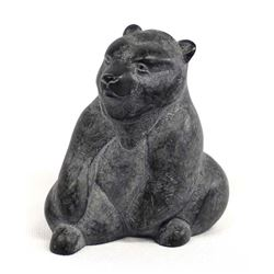 Vintage BOMA Resin Composite Bear Carving