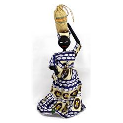 African Cloth Doll and Child