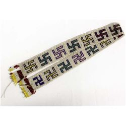 Vintage Native American Plains Indian Beaded Sash