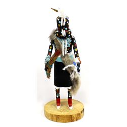 1996 Zuni Fire God Kachina by Leroy Niiha