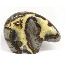 Sculpted Septarian Nodule Bear