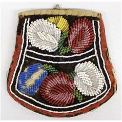 Vintage Iroquois Beaded Purse