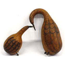 Peruvian Gourd Birds by Don Barr