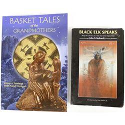 2 Softback Books, Native American Interest