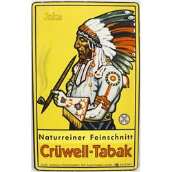 Naturreiner Feinschnitt Cruwell Tabak Advertisemen