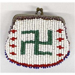 Native American Sioux Beaded Coin Purse